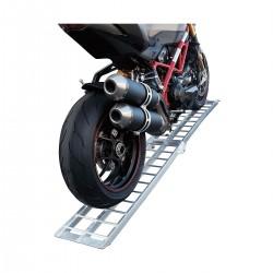 Rampa di carico moto in alluminio - 340kg - 30cm larghezza